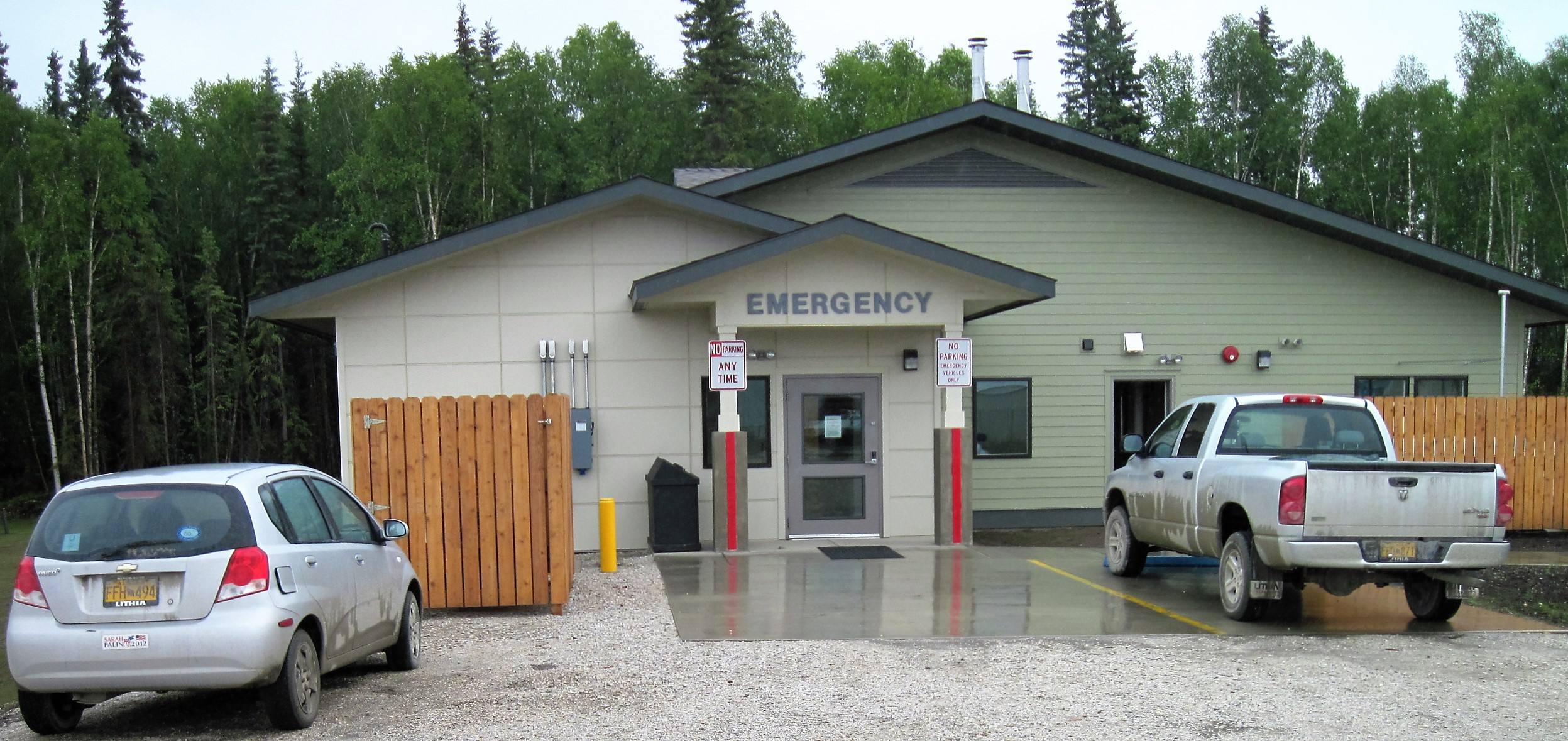 McGrath Regional Health Center Emergency Entry